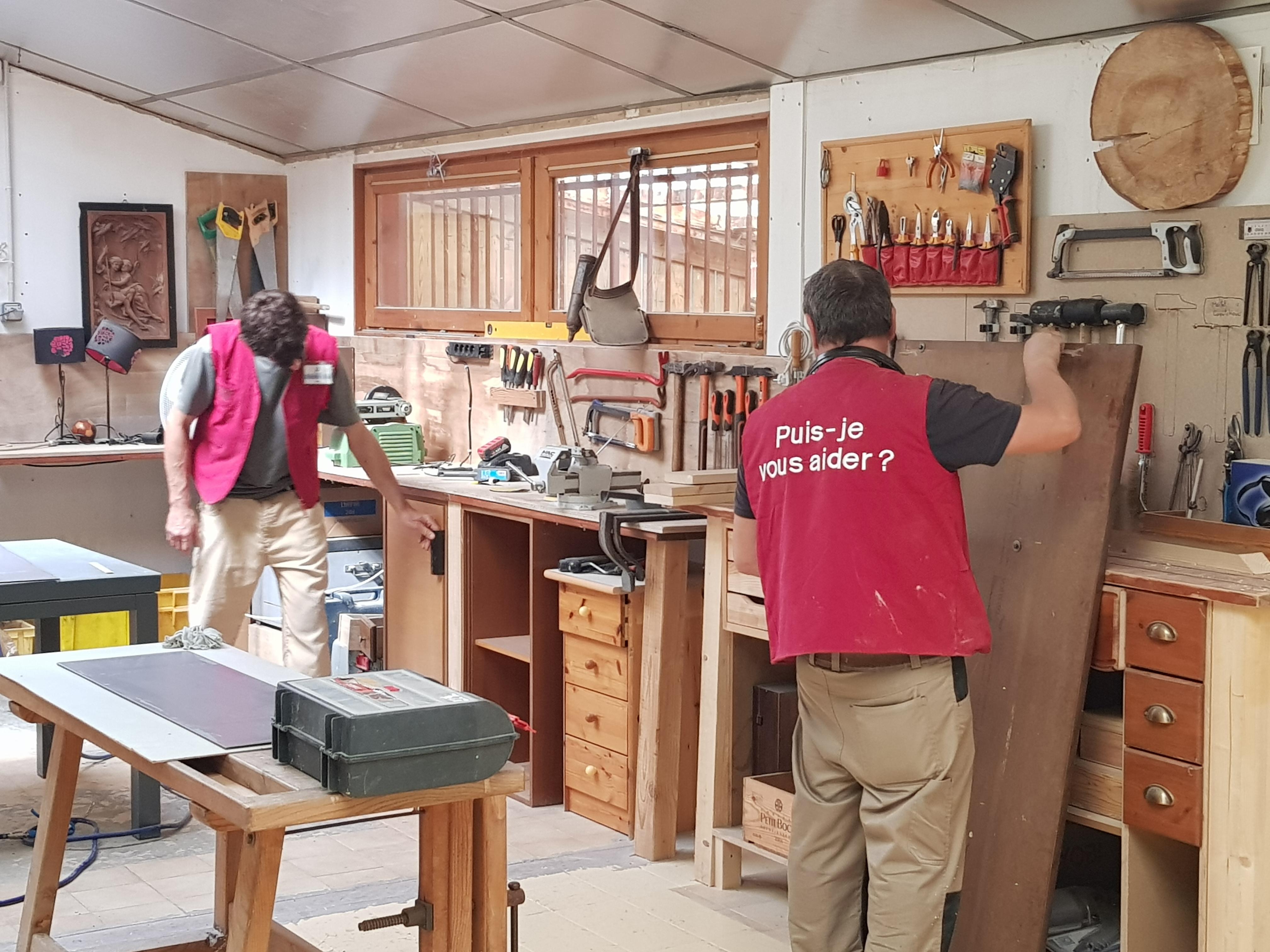 Atelier bois des bennes