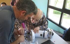 Réparation sur une cafetière